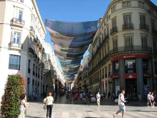 City Sightseeing Malaga : Marquès de Larios street