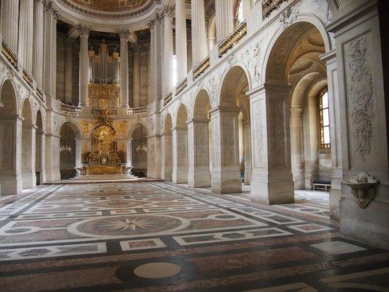 La Chapelle Royale : Vista desde planta baja