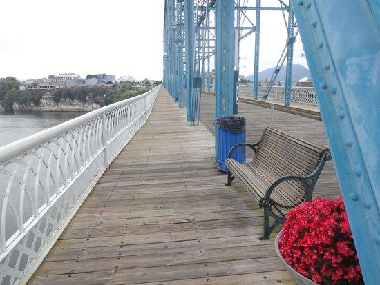 Walnut Street Bridge: Bigger pedestrian bridge in the world