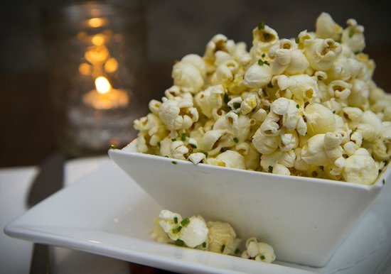Nectar Wine Lounge: Black Truffled Popcorn