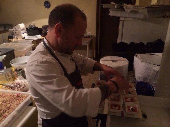 Chris & Co. Restaurant: Italo - lo chef