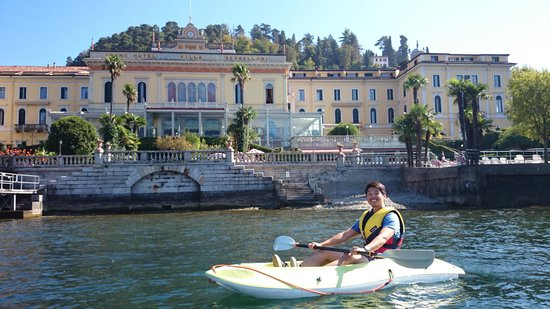 Bellagio Water Sports Kayak Club: villa serbelloni