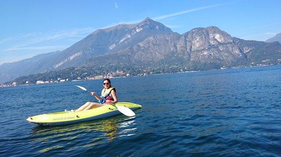 Bellagio Water Sports Kayak Club: lake como