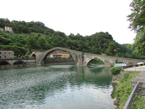 Borgo di Pianiano a Cellere: Ponte della Magdalena