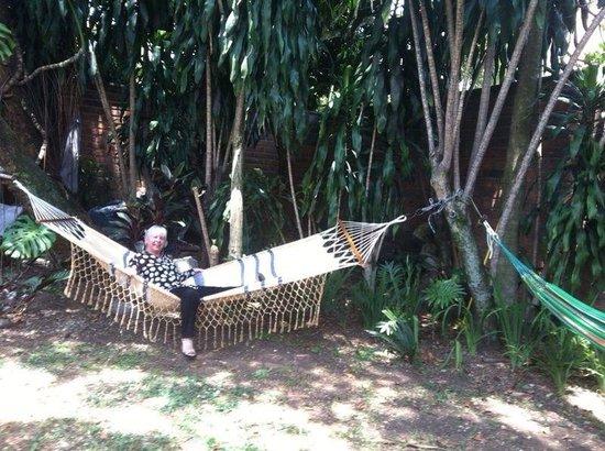 Hostal Poblado Park: En el hostal !!!!que tranquilidad