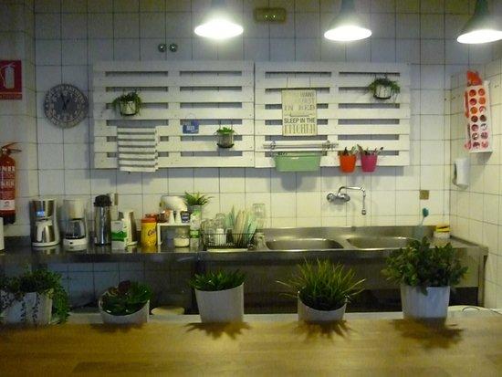 The Boutike Hostel : cocina