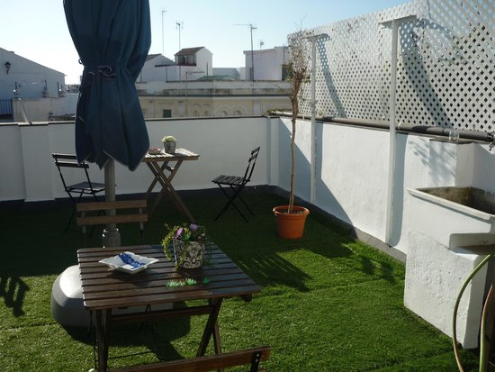 The Boutike Hostel : terraza
