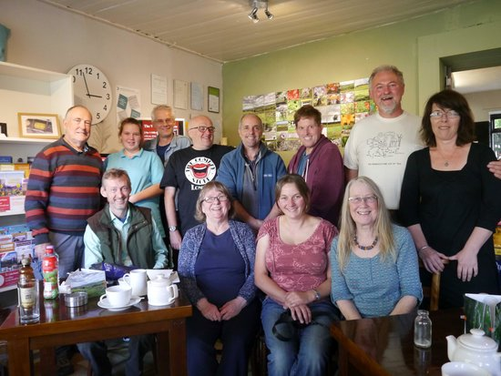 Chatterbox Cafe: Members of Walking/Talking/Photography Group