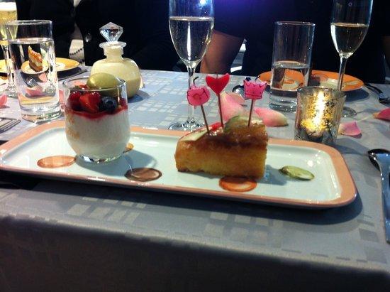 Le Cafe Lenotre : Les gâteaux
