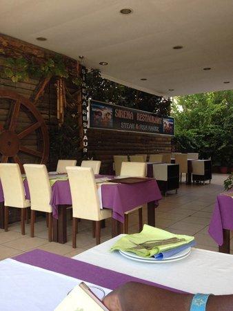 Sirena restaurant Kemer Turkey