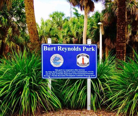 Burt Reynolds Park: Lush Grounds