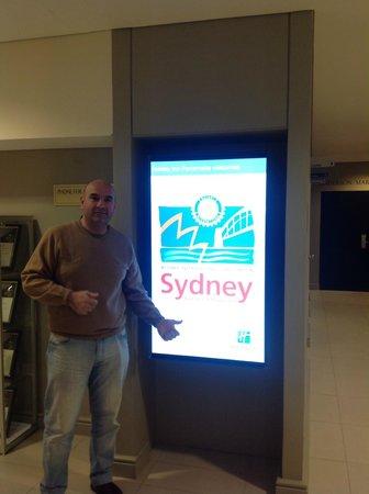 Holiday Inn Parramatta : En el Hall de Acceso