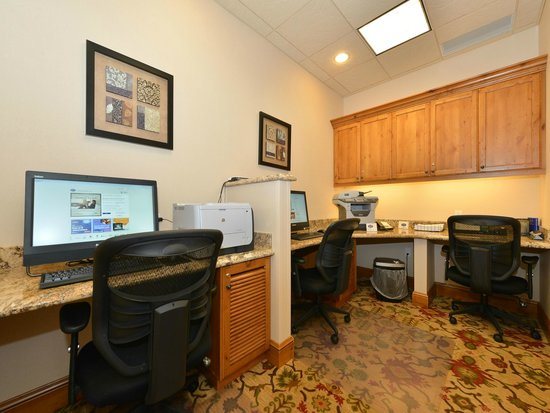 Hampton Inn & Suites Buffalo: Business Center