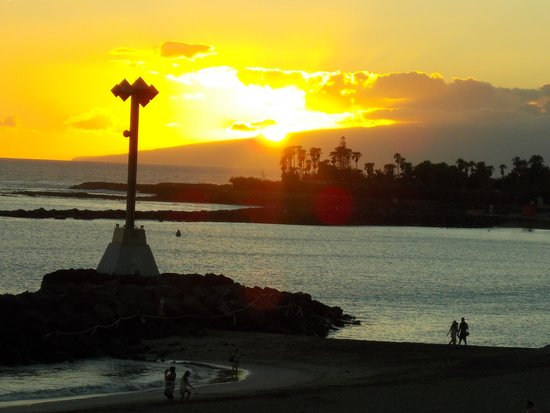 "The Breeze Inn : Fantastic sunset at "" The Breeze."""
