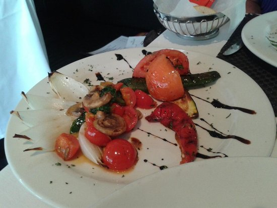 Cantina 27: Grilled Vegetables to die for!