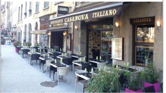 Pizzeria restaurant Casanova