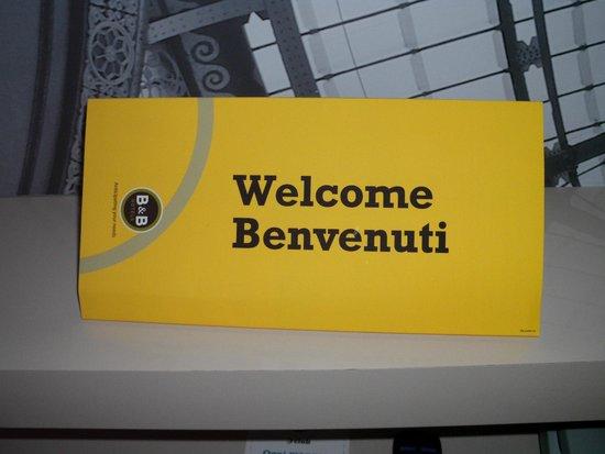 B&B Hotel Milano Sesto San Giovanni: Welcome