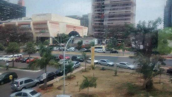 Brasilia Imperial Hotel e Eventos : Vista do shopping Pátio