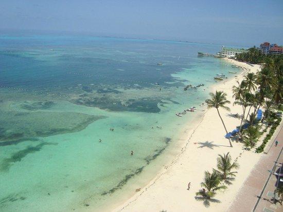 Hotel Calypso: vista al  mar