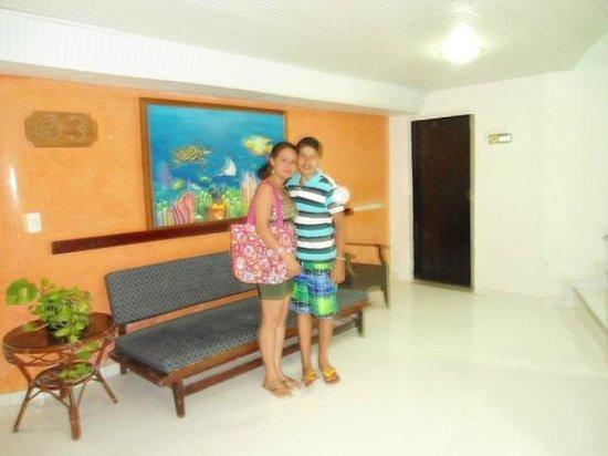 Hotel Calypso: corredor piso 3