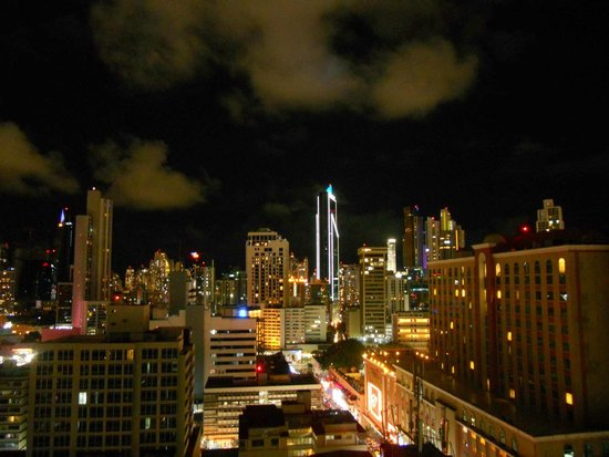 Tryp by Wyndham Panama Centro : View from rooftop bar