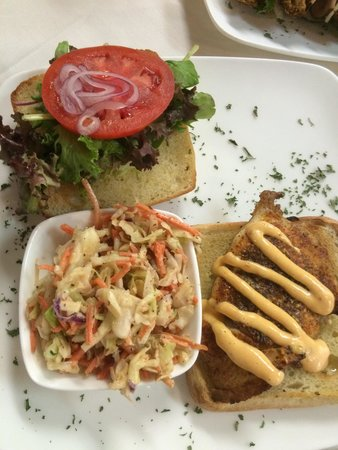 Cafe Alcazar : Special of the day - snapper on ciabatta--DELISH!