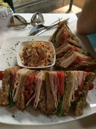 Cafe Alcazar : Special of the day--CLUB DU JOUR - yum!