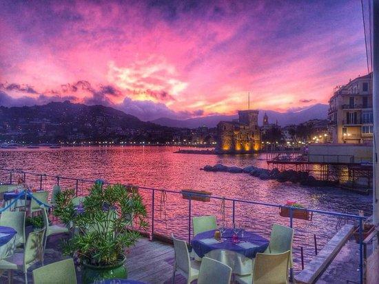 Cena con vista picture of bagni ariston rapallo tripadvisor