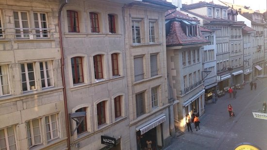 Hotel du Faucon: Desde la ventana