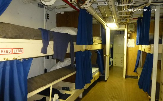 Icebreaker Mackinaw Maritime Museum Inc.: Sleeping quarters on the Icebreaker Mackinaw
