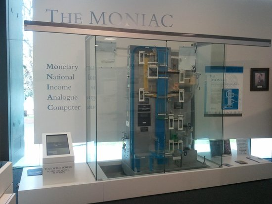 Reserve Bank Museum: The MONIAC Computer