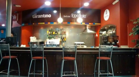 Cafe Tarantino Delicias Lapataia