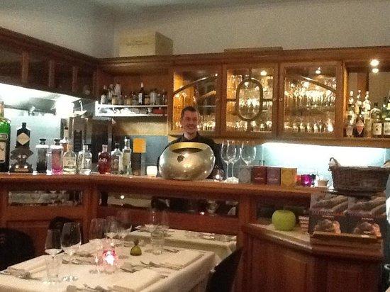 Restaurant Beluga : Chef cook Wim Janssens
