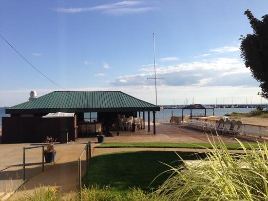 Tawas Bay Beach Resort: view from room