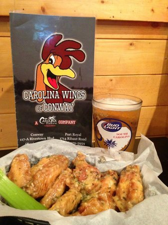 Carolina Wings & Ribhouse: Best Wings Around, Just ask a Local