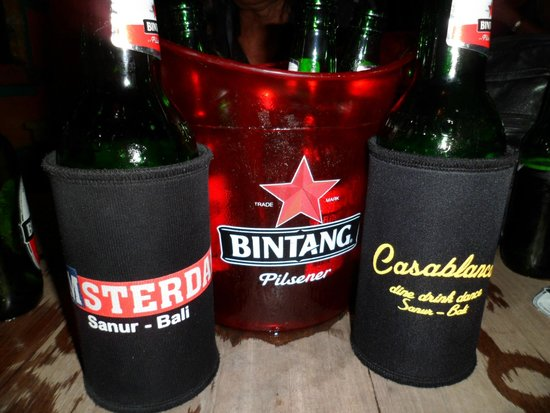 Casablanca Dine Drink Dance: Icy cold Bintang