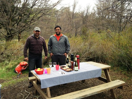 Patagonia Camp: Picnic at Lago Grey with Don Luis & Cristopher