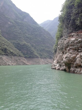 Small Three Gorges in Chongqing : Lesser 3 Gorges and its green waters