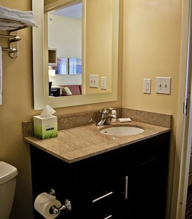 TownePlace Suites Rock Hill: Suite Bathroom Vanity