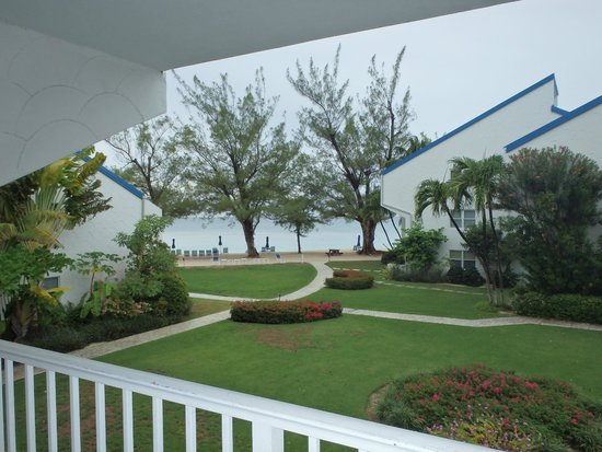 Villas of the Galleon: Balcony view of unit 26