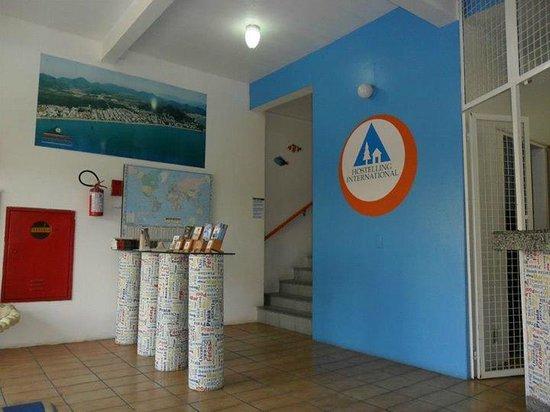 Hostel Canasvieiras: Entrada del hotel