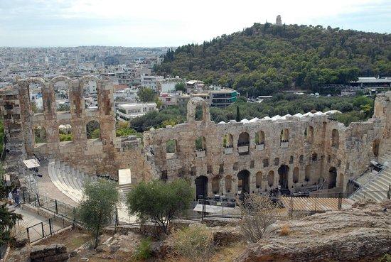 Herod Atticus Odeon : Atico