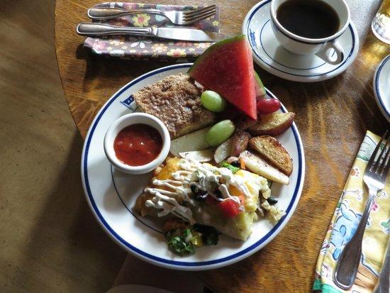 Historic Anchor Inn : breakfast enchilada