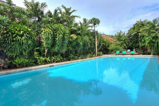 Raja Gardens Hotel : Large 18m pool