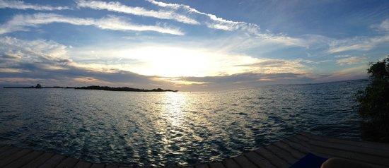 Coralina Island : Vista desde el muelle