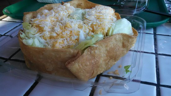 Poquito Mas: Tostado  . . . I special ordered so some things are missing. (Gauc, sour cream)