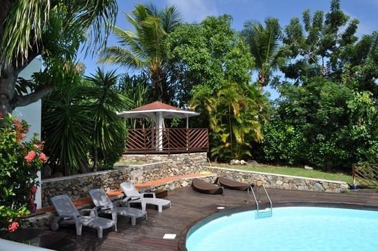Shamrock: photo prise de notre balcon du Coconut, janvier 2014