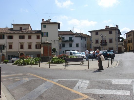 Montespertoli, Italy: The old center of the village