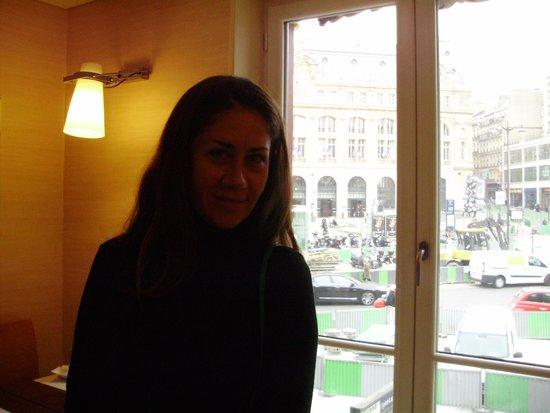 Londres et New York Hotel: Desayunando