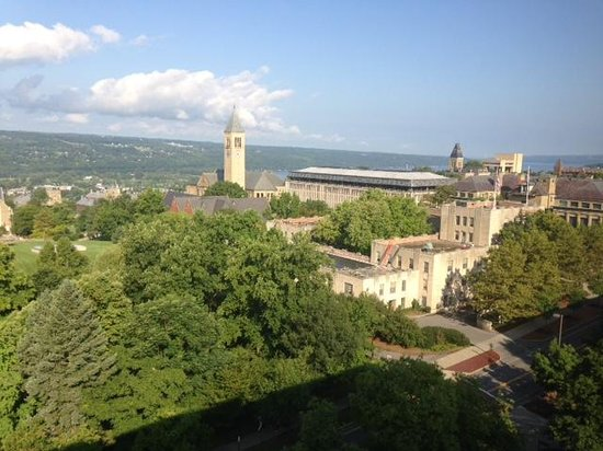 The Statler Hotel at Cornell University : On  Clear Day
